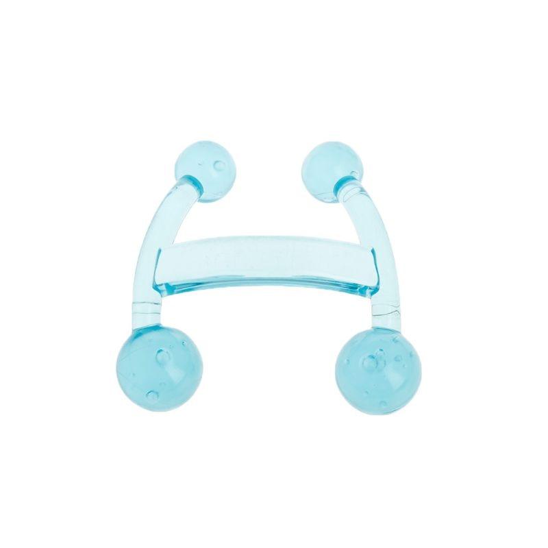 Herramienta de cuidado de pies en forma de Mini H 4 piernas Manual cuerpo completo plástico Manual masajeador de mano Punto de reflexología masaje de relajación corporal