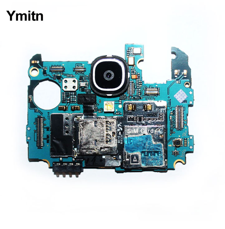 Ymitn 100% עבודה נבדק האם 16GB סמארטפון הרשמי Mainboad עם שבבי היגיון לוח עבור Samsung Galaxy S4 i9500 i9505