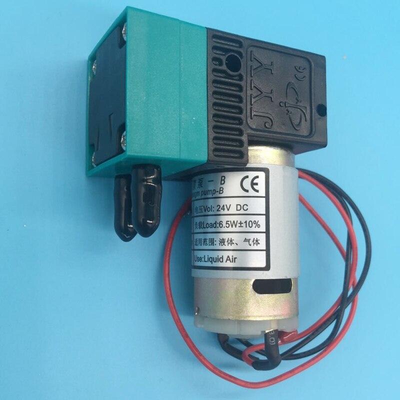 2 uds. Wit color Allwin eco solvente impresora 6,5 w micro bomba de tinta para retador Infiniti Phaeton Flora 24V 300-400 ml/min bomba