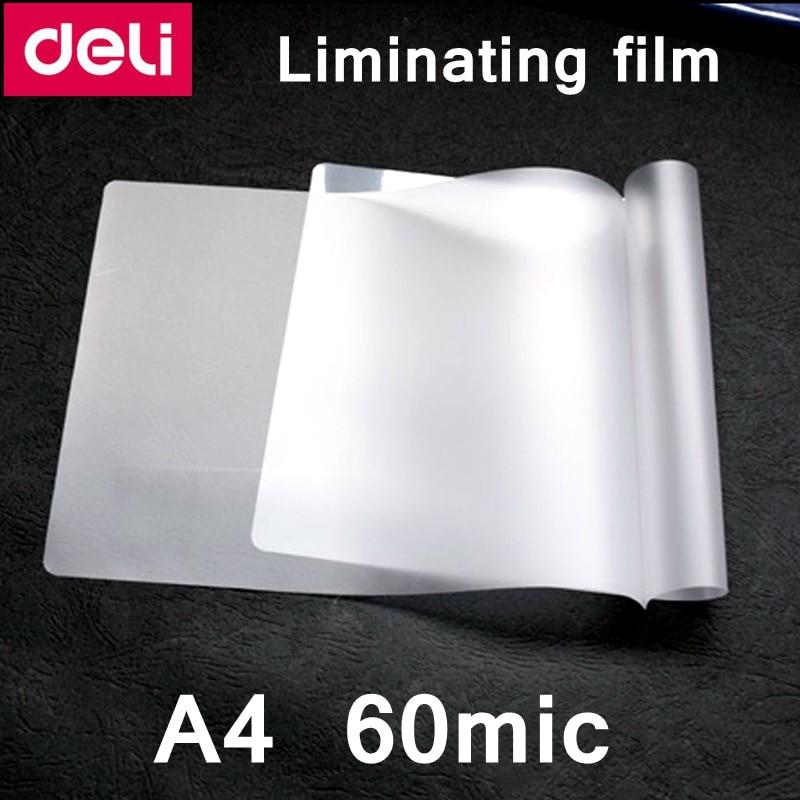 100 قطعة/الوحدة ديلي A4-60C الترقق الحرارية فيلم A4(220x308 مللي متر) حجم 60 mic صور الوثائق الحيوانات الأليفة تغليف فيلم