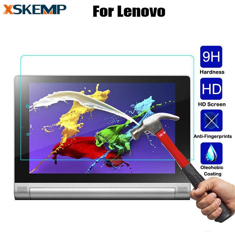 """Para Lenovo Ideatab A7600 10,1 """"A10-80 A7800 A3000 7,0 A7-30 A3300 A5000 Tab2 Protector de pantalla transparente Protector de película protectora Tablet"""