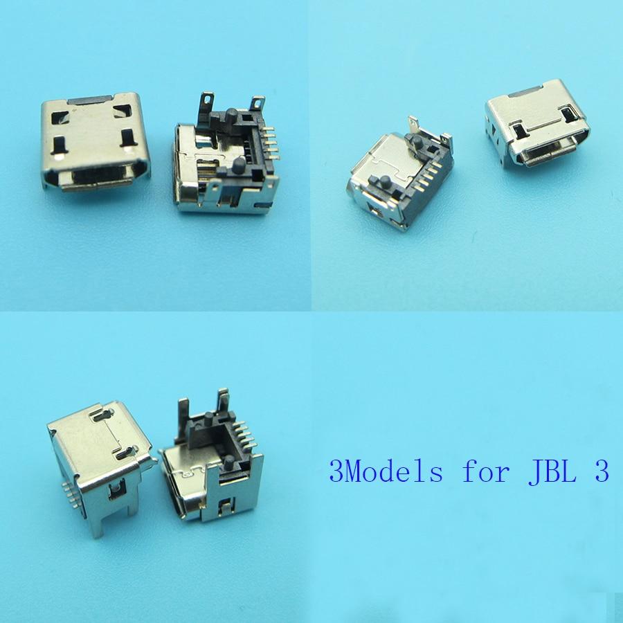 3model 6pcs  for JBL Charge FLIP 3 Bluetooth Speaker New female 5pin type B Micro mini USB Charging Port jack socket Connector