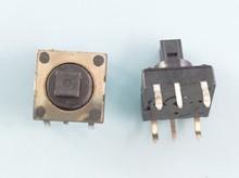 10 Uds 6 pines botón táctil momentáneo Micro interruptor 10x10x10mm SKQUCAA010