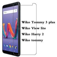 HD 9H Film Ultrathin Tempered Glass For Wiko tommy View lite Harry 2 Tommy 3 plus Screen Protector P