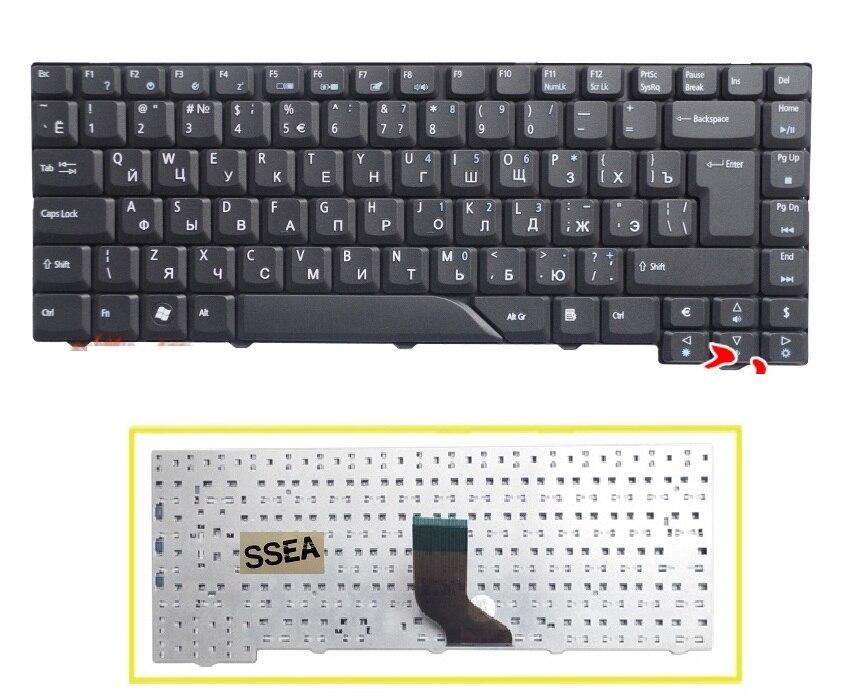 SSEA nuevo teclado de Rusia. Para Acer Aspire 4520, 4710, 4720, 4920,...