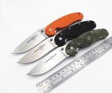 Modelo de rata JSSQ 1 Cuchillo plegable AUS-8 cuchillo de bolsillo de combate herramientas EDC de Camping al aire libre caza de supervivencia Cuchillos militares OEM