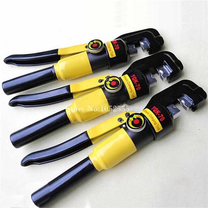 4PCS Hydraulic Crimping Tool Hydraulic Crimping Plier Hydraulic Compression Tool YQK-240 Range 16-240MM2 K38-2 Pressure 12T