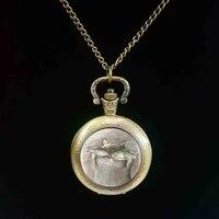 1pcslot and fish pocket watch long chian statement handmade fashion pocket watch jewelry
