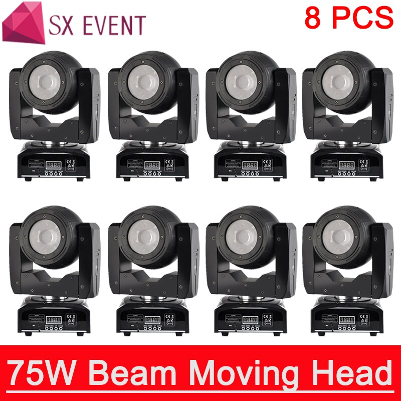75w led RGBW 4IN1 beam moving head light beam moving heads lights super bright LED DJ Spot Light dmx control lights/SE-75BEAM