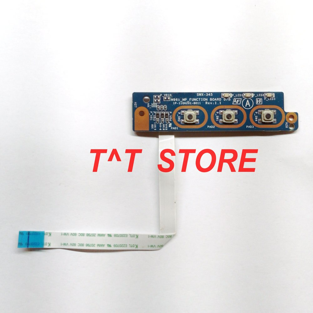 original brand For VPCEA VPCEA46FM VPCEB Series LED MediaButton Board with cable SWX-345 M961 1P-110