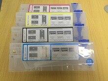 4 pcs/lot cartouche dencre vide de recharge 220 ml pour Roland/Mimaki/Mutoh et autre système dencre en vrac dimprimante