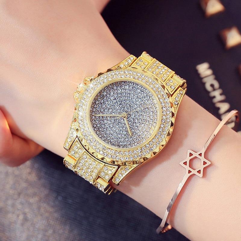 New Women Watches Fashion Diamond Dress Watch High Quality Luxury Rhinestone Lady Wristwatches Quartz Watch with Box&Watch tool enlarge