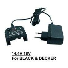Chargeur de rechange LCS1620 AC100V--240V pour batterie doutils électriques au Lithium BLACK & DECKER 14.4V 18V 20V LB20 LBX20 LBXR20 prise US/EU
