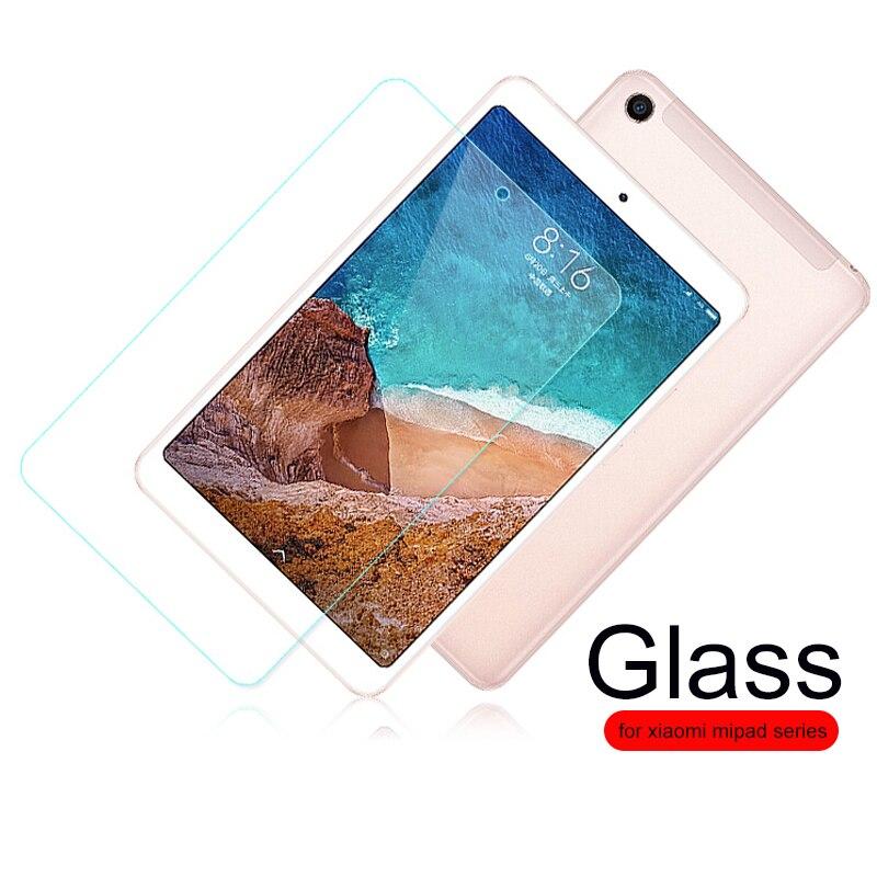 """Para Xiaomi mi Pad 4 Protector de pantalla de vidrio templado para Xiaomi mi Pad 1 2 3 4 plus mi pad4 Tablet 8 """"10,1"""" 9H HD película protectora"""