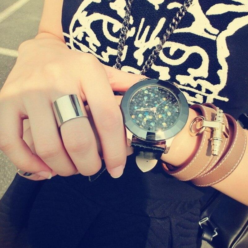 Relojes GUOU de lujo con diamantes para mujer, relojes de pulsera para mujer, relojes de marca superior para mujer, reloj de mujer bayan kol saati