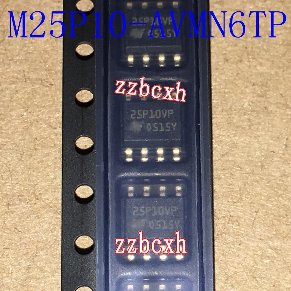 5 unids/lote nuevo original en Stock 25P10VP M25P10-AVMN6TP SOP-8