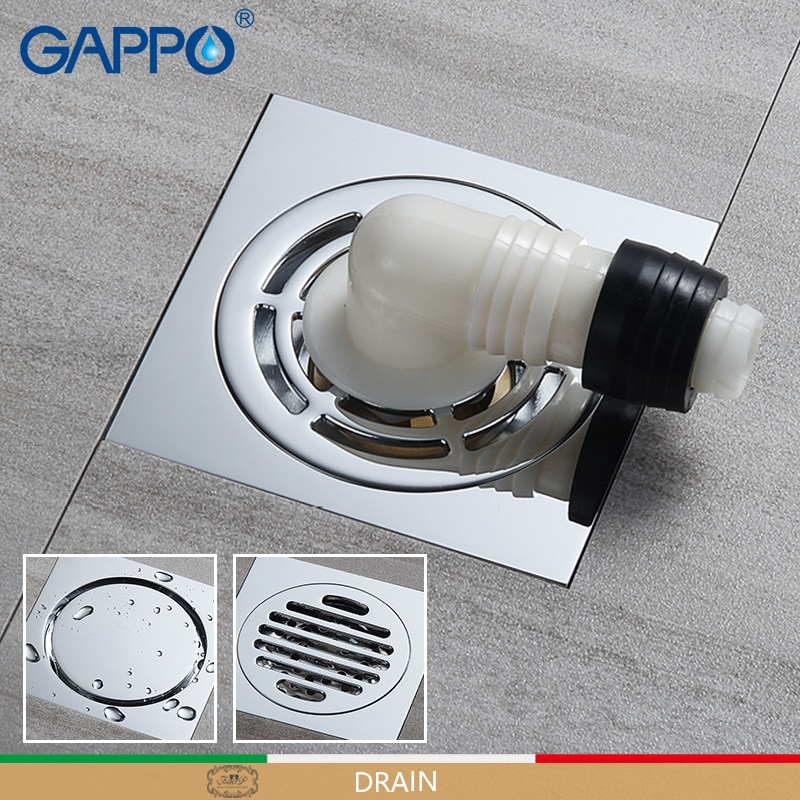 GAPPO дренажная Крышка для пола, анти-запах, ванная комната, дренаж для ванной, стопор для ванной, душ, водосточные фильтры