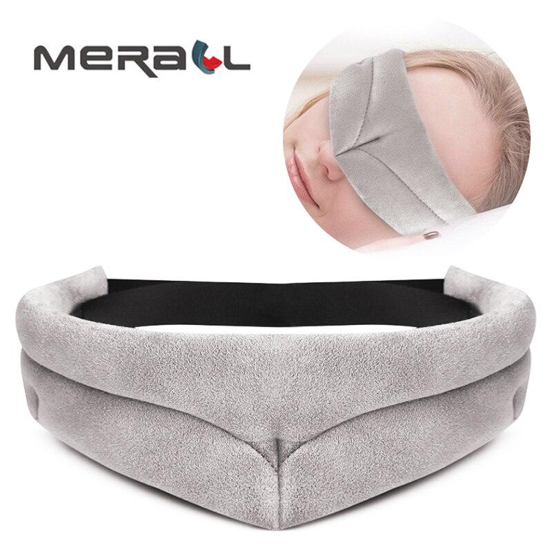 Dormir máscara de olho bloco para fora máscara de luz para o sono máscara de olho capa de olho de venda bandagem viagem resto sleeping aid viagem eyepatch