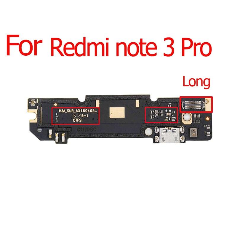 1pcs Para Xiaomi Redmi Nota 3 4X Global 2 4 Nota 3 Pro 5A/Redmi Nota 3 3S 4A 4X 5A Micro USB Conector Dock de Carregamento Porto Flex Ca