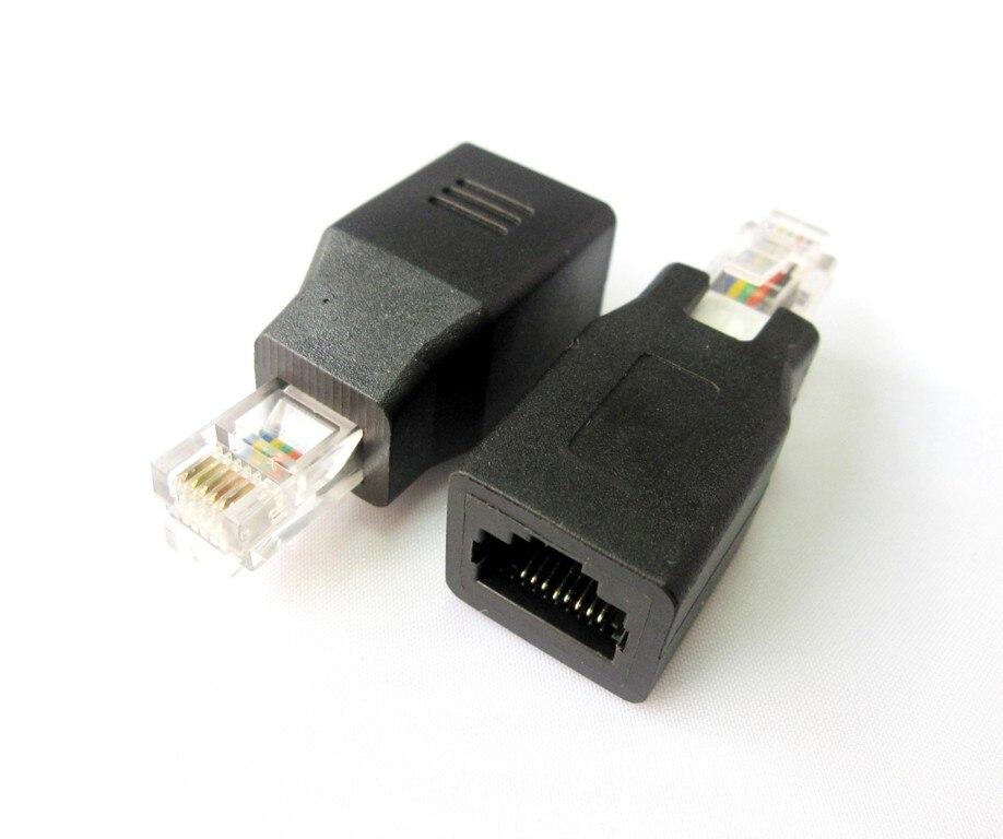 Сетевой Ethernet-разъем 1:8 RJ45 CAT5 CAT5E, переходник с наружной резьбы на внутреннюю, Новый ethernet-адаптер