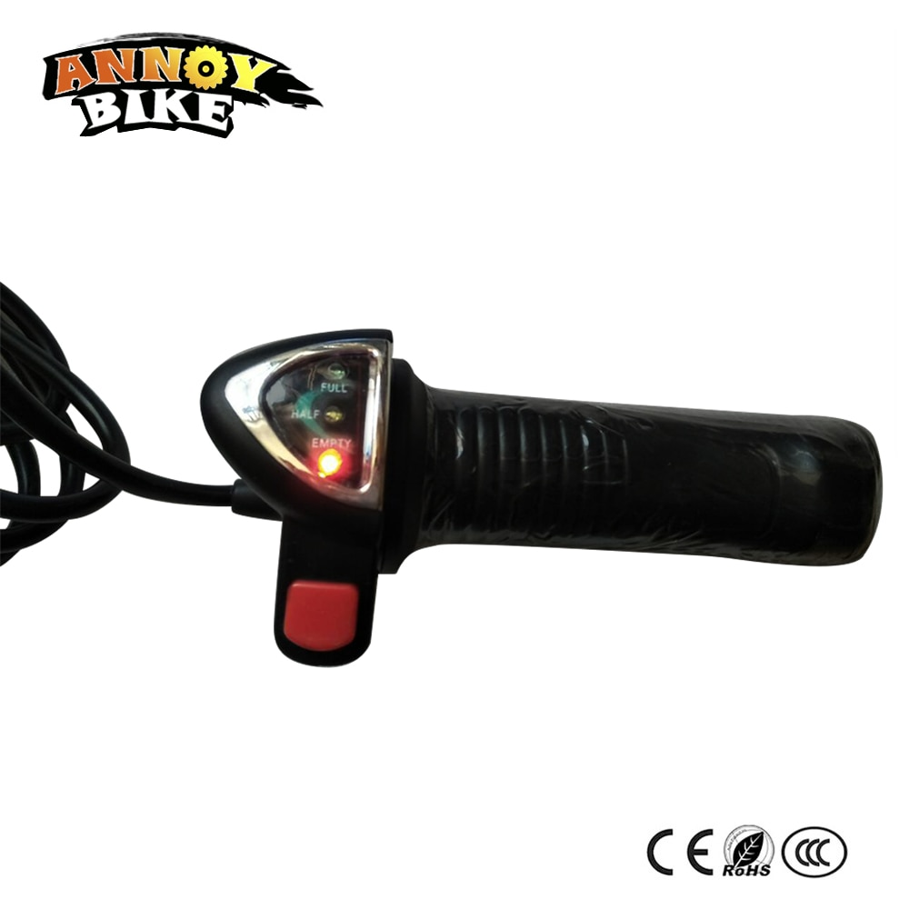 Manillar giratorio acelerador Scooter Eléctrico acelerador retroceso manillar Ebike derecha palanca de cambios bicicleta eléctrica manija