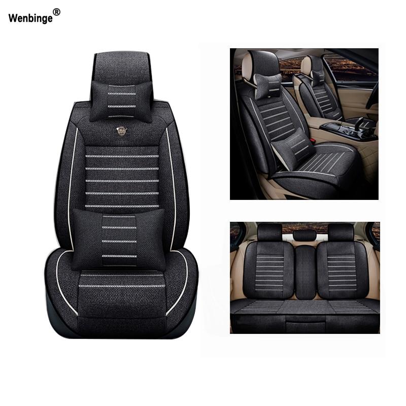 Transpirable cubiertas de asiento de coche para Audi A6L R8 Q3 Q5 Q7 S4 RS Quattro A1 A2 A3 A4 A5 A6 A7 A8 accesorios de auto pegatinas de coche