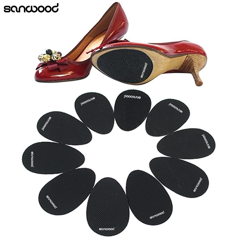 2018 New Design 5 Pairs Anti-Slip High Heel Shoes Sole Grip Protector Non-Slip Cushion Pads Gifts