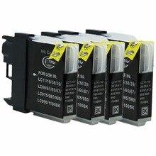 LC39 LC60 LC975 LC985 reemplazo de cartucho de tinta MFC-990CW MFC-5490CN MFC-5490CW MFC-5890CN MFC-6490CN de inyección de tinta