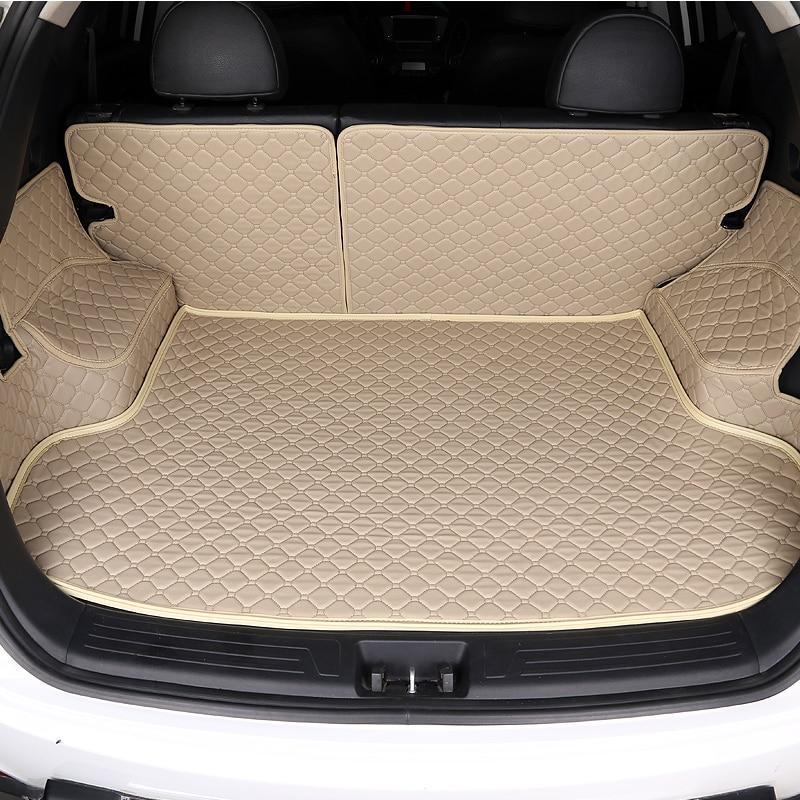 HLFNTF estera de maletero de coche personalizada para Citroen C3-XR C4 Cactus C2 C3 C5 Aircross SUV accesorios de coche de estilo 100%