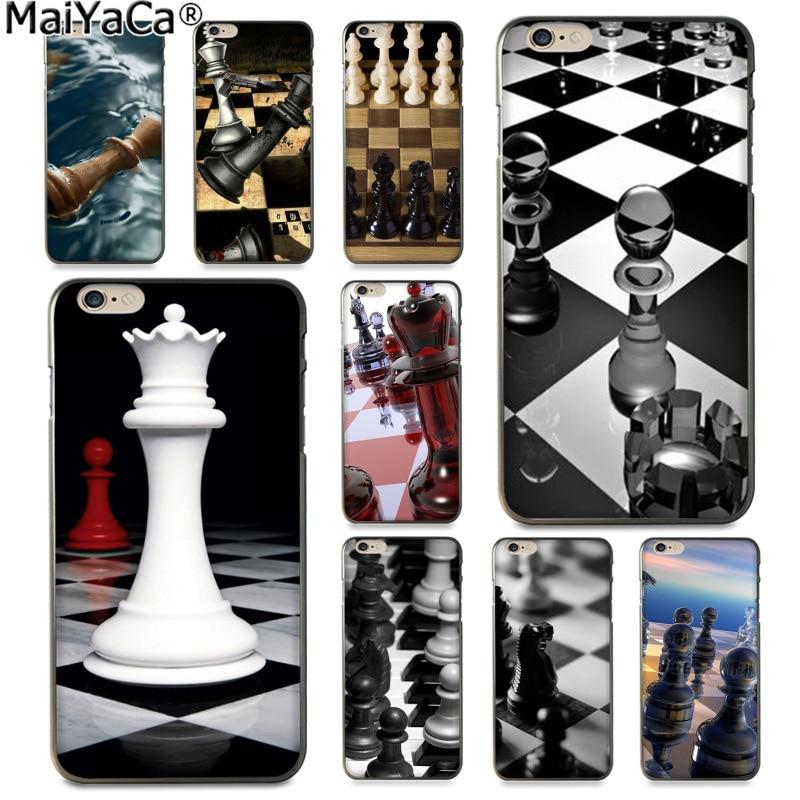 Maiyaca e xadrez branco nova chegada moda capa de telefone para o iphone se 2020 11 pro 8 7 66s plus x 5S se xs xr xs max capa