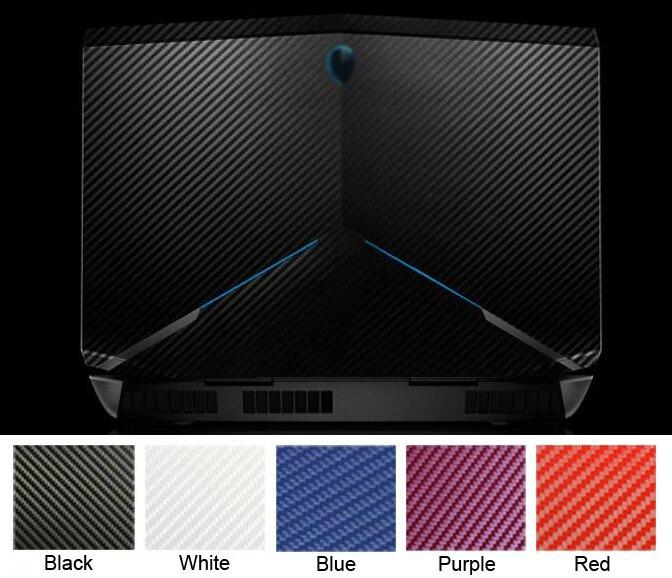 KH Laptop Pelle In fibra di Carbonio Sticker Protector Cover per Alienware 17 R3 R2 ANW17 AW17R2 AW17R3 da 17.3 pollici 2015 rilascio
