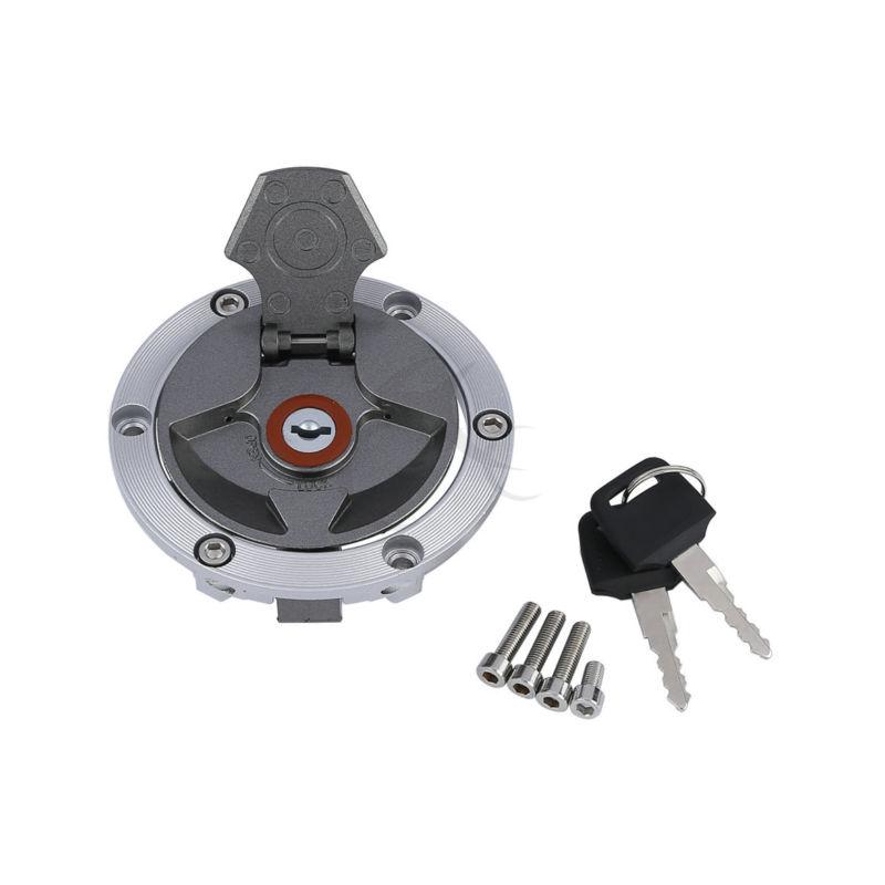 Motorcycle Fuel Gas Tank Cap Cover Lock Key For Kawasaki EX250 Ninja 250R EX300 ER250 ER300 Z250 Z300