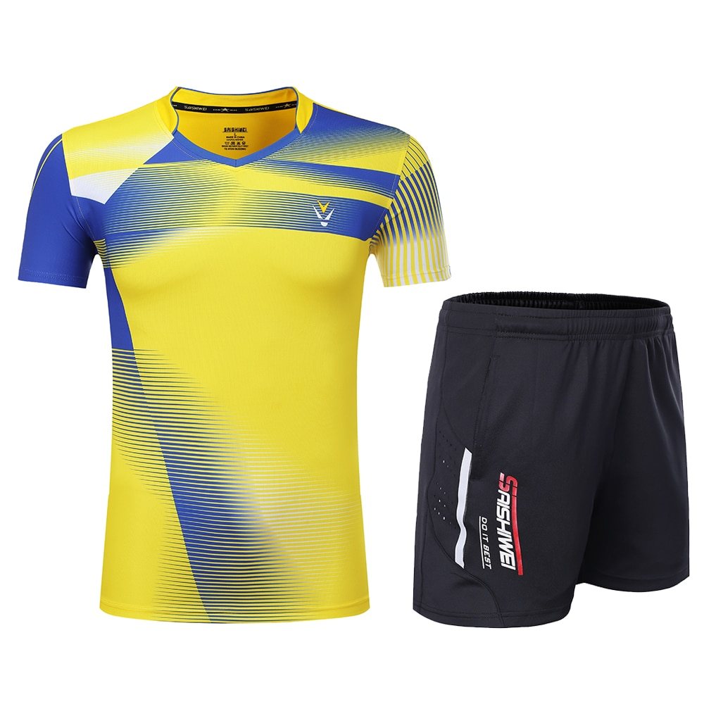 New Qucik dry Badminton sports clothes Tennis suit , table tennis clothes , Tennis clothes, badminton wear sets Women/Men  3867