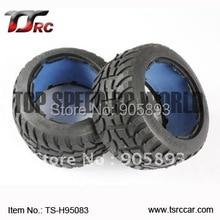 Ensemble de pneus route-route arrière 5B (TS-H95083) x 2 pièces pour 1/5 Baja 5B, sans mousse intérieure, vente en gros et au détail