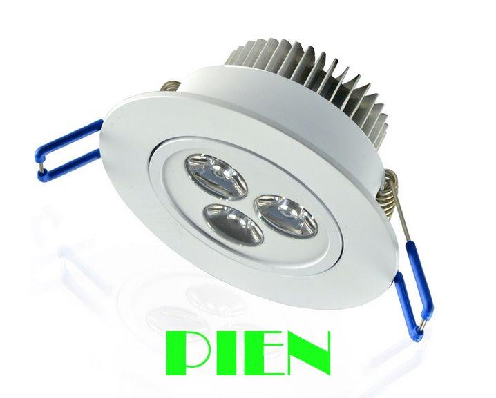 Lámparas de techo led downlight 3W 5W 7W luces iluminación luz de...
