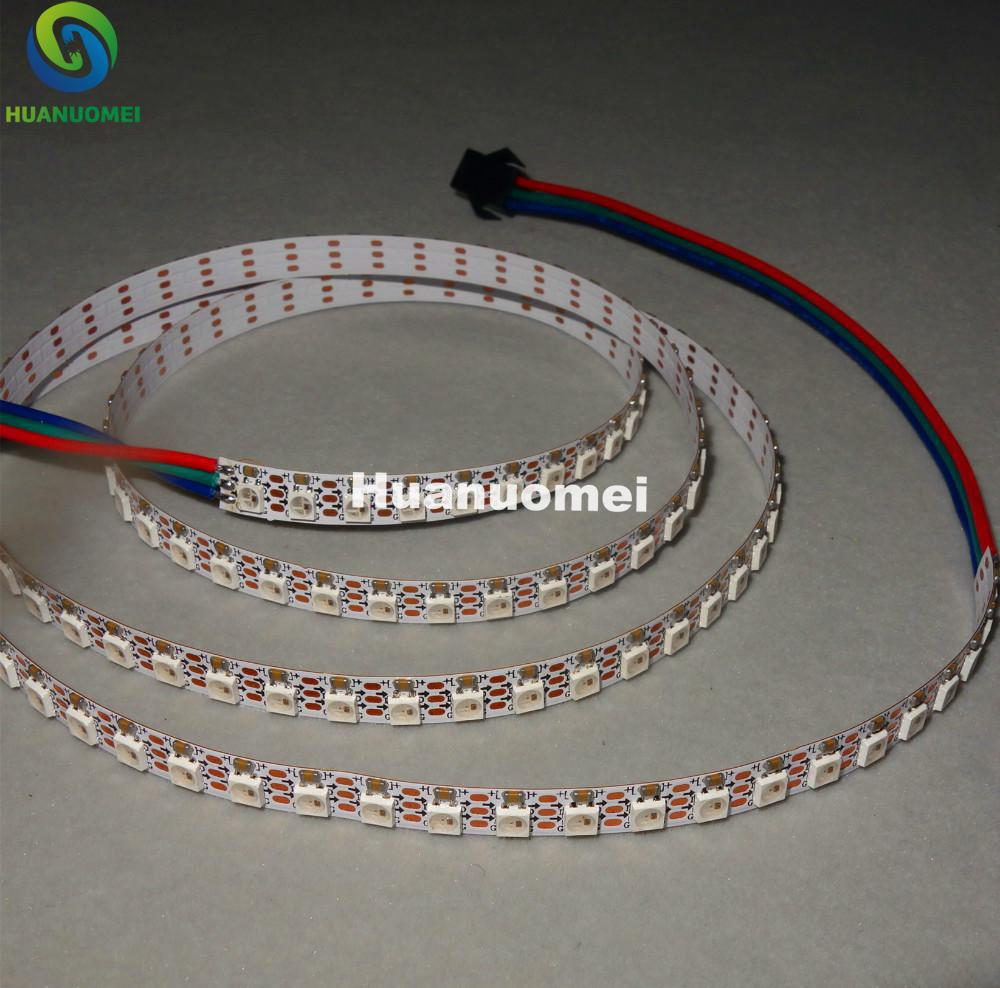 addressable 1m 144LEDs/m DC5V SK6812MINI-3535 led pixel strip,NON-waterproof,with 144pixels/M;WHITE PCB