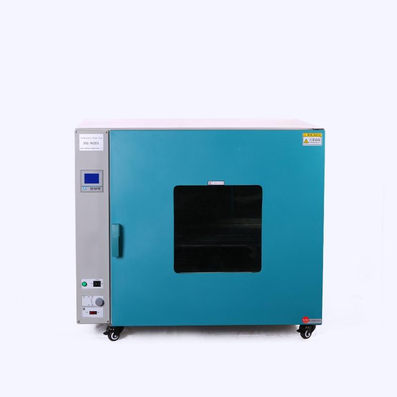 ZOIBKD Best Quality DHG-9420A 3 Shelves Stainless Steel Benchtop Hot Air Circultating Soil Blast Drying Oven