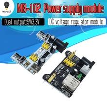 MB102 platine de prototypage Module dalimentation blanc platine de prototypage Module dalimentation dédié 3.3V 5V MB-102 planche à pain sans soudure pour arduino