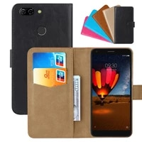 luxury wallet case for zte blade v9 vita pu leather retro flip cover magnetic fashion cases strap