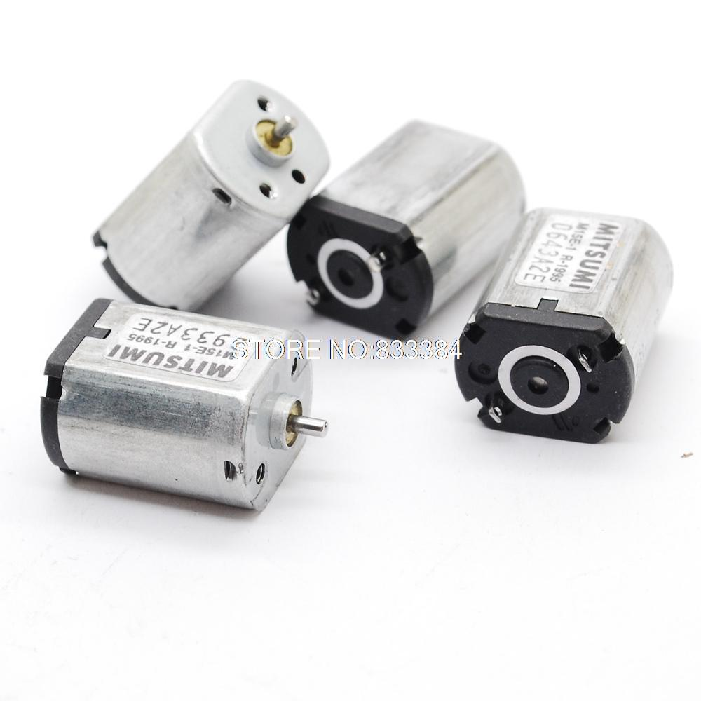 Wholesale 20pcs 3-6V DC 9500-19500RPM Mitsumi  DC micro motor short shaft for air pump