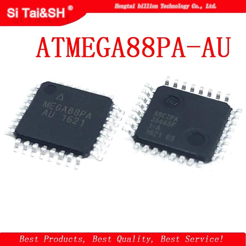 5 pçs/lote ATMEGA88PA-AU ATMEGA88PA ATMEGA88 QFP32 8KB 8-microcontrolador 8-bit MCU flash