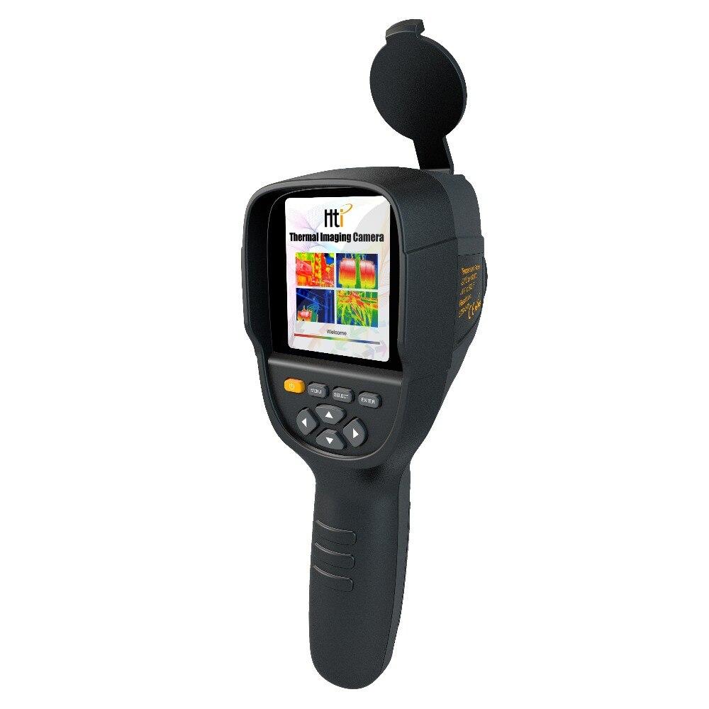 "Detector de imágenes térmicas IR Digital de calor de mano HT-18 cámara térmica de larga distancia HT-19 instrumentos de temperatura 3,2"""