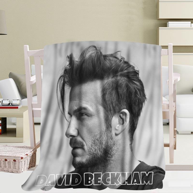 Manta de viaje personalizada David Beckham, manta de lana para exteriores, manta de forro polar para interiores de 56x80 pulgadas, 50x60 pulgadas, 40x50 pulgadas