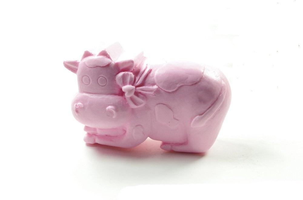 Форма для молочной коровы, силиконовая 3D форма для мыла, ручной работы, формы для свечей S409