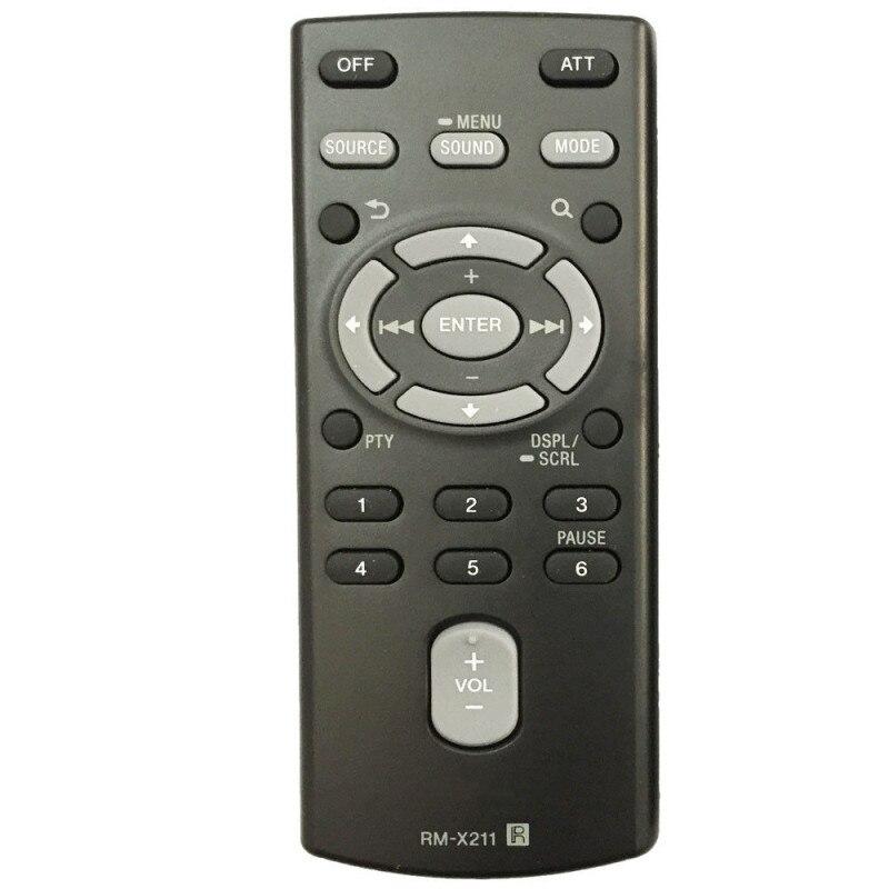 Nuevo Control remoto de Sony de disco de coche CXS-6169FU CXS-61FQU CXS-GT5616F DSX-A30 WX-GT80UI CDX-GT40U CDX-GT45U