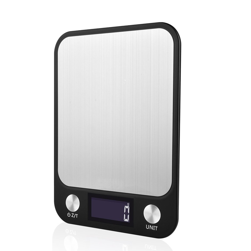 Portátil 5000g 5kg x 1g herramientas de medición balanza Digital LCD balanza electrónica cocina romana balanzas Postal Balanza de peso de alimentos