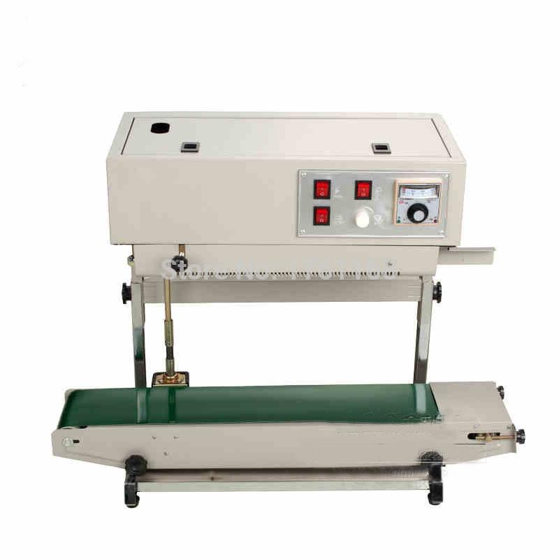 FR-900v مجتمعة الرأسي والأفقي طحن آلة ، البلاستيك حقيبة آلة لحام ، المستمر التلقائي ختم آلة