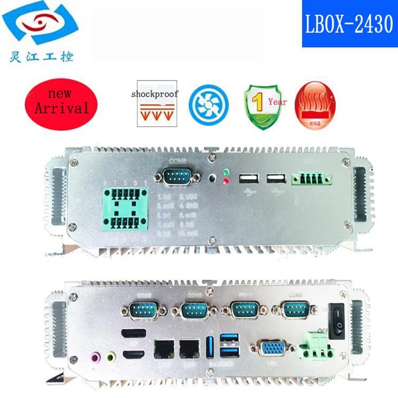 Preço barato Intel Core i5-2430M IPC Industrial incorporado mini pc Apoio DP + HDMI e VGA de exibição