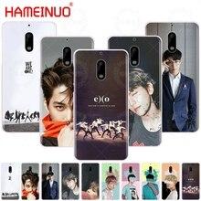 HAMEINUO EXO BaekHyun XIUMIN LAY okładka etui na telefon Nokia 9 8 7 6 5 3 Lumia 640 640XL 2018