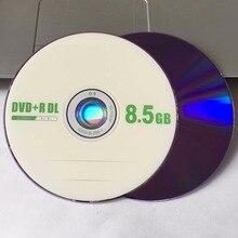 25 disques Grade A X8 8.5 GB fruits vierges imprimés DVD + R DL disque